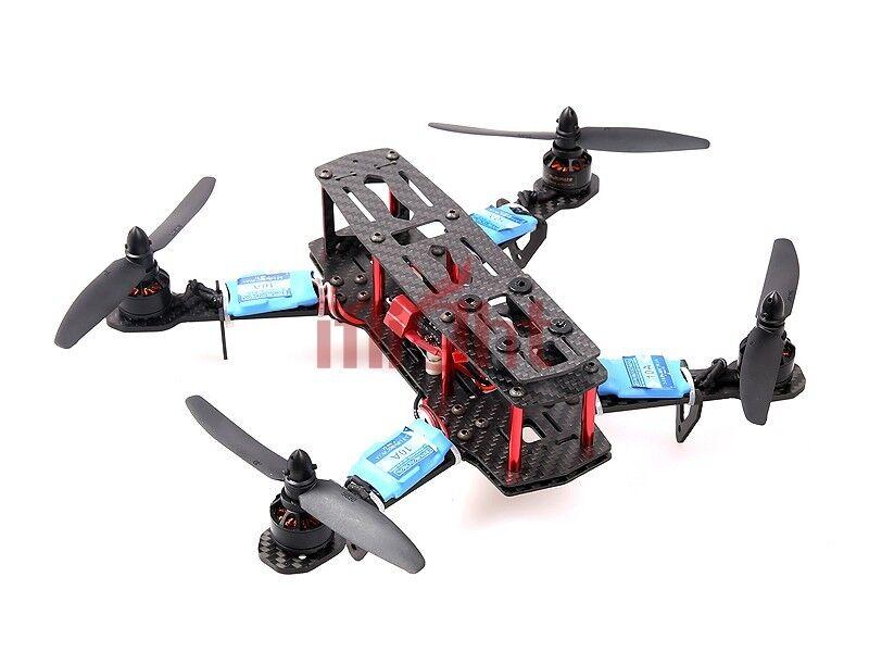 Iflight xbird 250 250 Mm Fpv Racer quadricóptero-Perfecto para Mobius Actioncam