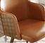 thumbnail 28 - 1 PC Mid Century Modern Leather Upholstered Accent Chair Home Office LivingRoom