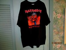 """Iron Maiden """"THE NUMBER OF THE BEAST"""" T-Shirt ADULT 3XL (54-56) SOLID BACK"""