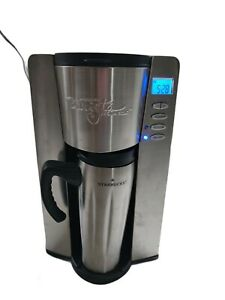 Starbucks Barista Aroma Solo Cup Coffee Home Brewer Missing Filter & Mug Lid