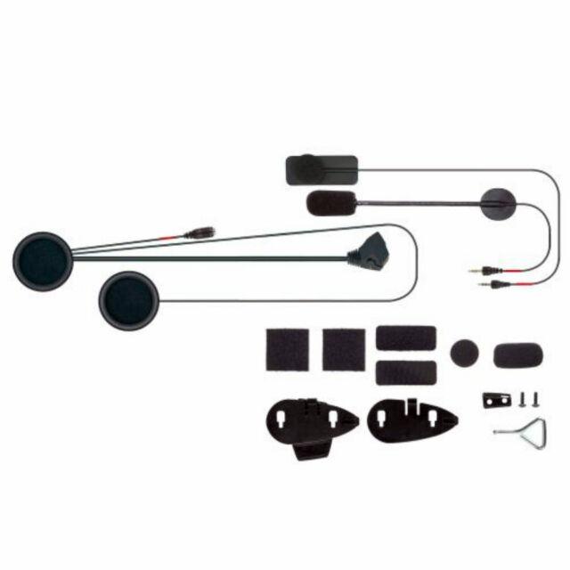 Set Audio Recambio Micrófono Auriculares Cellularline Interphone F3 F4 Mc-Xt F5