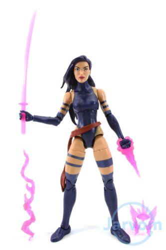 "Marvel Legends 6/"" pouces Apocalypse BAF Vague Cheveux Violet Psylocke Loose complet"