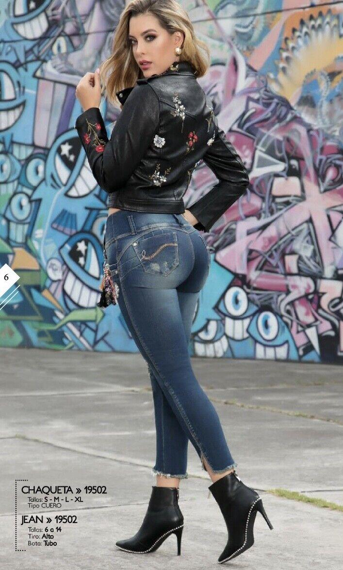 Colombian Butt Lift Jeans - Levantacola