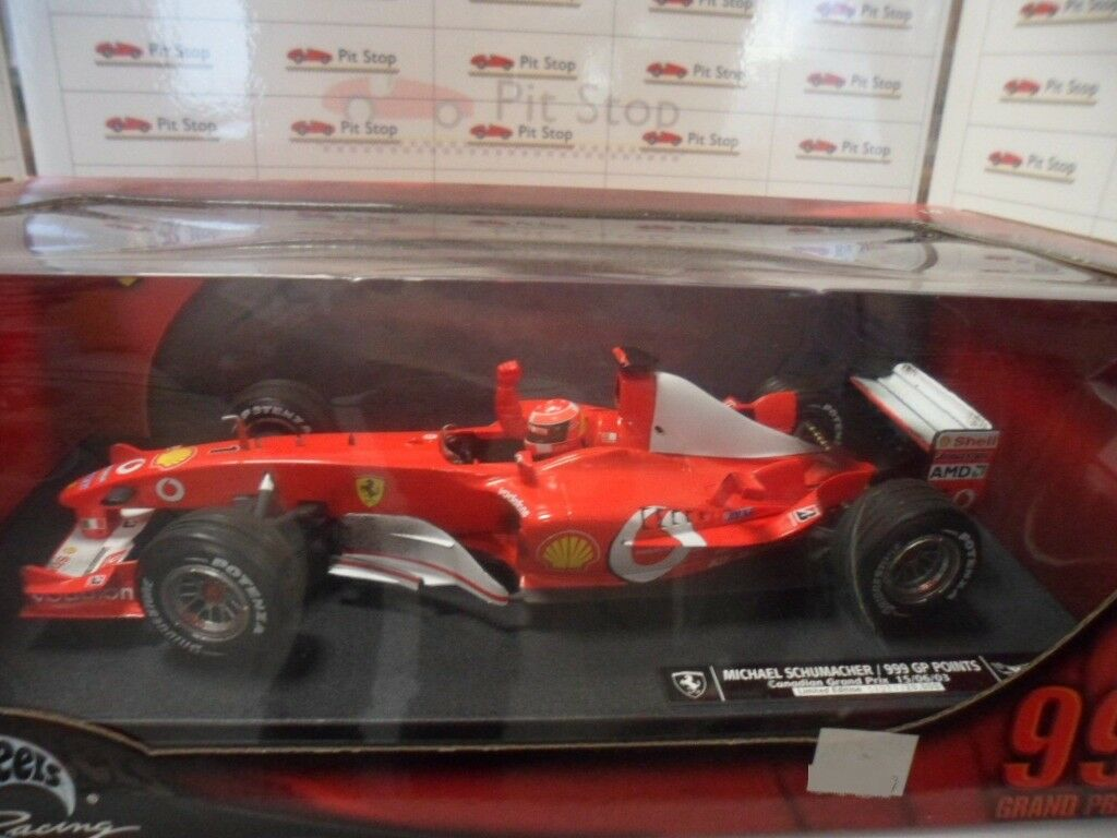 HW12875 999 GP POINTS CANADIAN GRAND PRIX 15 06 03 MICHAEL SCHUMACHER 1 18