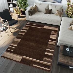 Rugs Modern Design Carpet Soft Dark