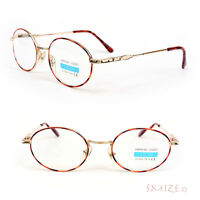 Tortoise Gold Metal Round Spring Hinges Reading Glasses 200-350