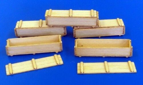 Plus Model 148-1:35 Lasercut Military boxes einzeln