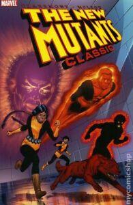 New Mutants Classic TPB #1-1ST VF 2006 Stock Image
