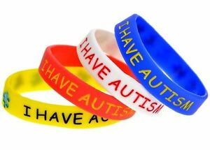 Image Is Loading I Have Autism Childrens Size Awareness Rubber Silicone