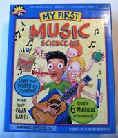 My First Music Science Kit 6 Instruments Toy Ages 4+ Scientific Explorer