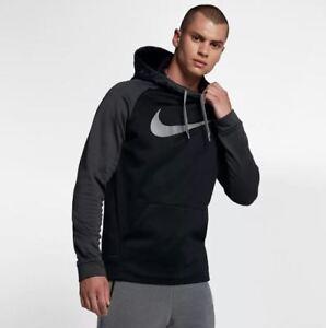 ea504cca6ee8 NWT Men s Nike Big   Tall Therma Training Swoosh Hoodie 4XLT 905659 ...