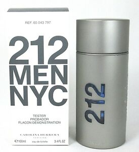 095dcbb0fe 212 Men NYC Cologne Carolina Herrera 3.4 oz Eau De Toilette Spray ...
