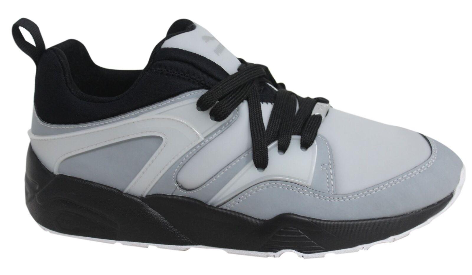 Puma Blaze of Glory Techy Lace Up noir  Gris  homme Trainers 361447 01 U21