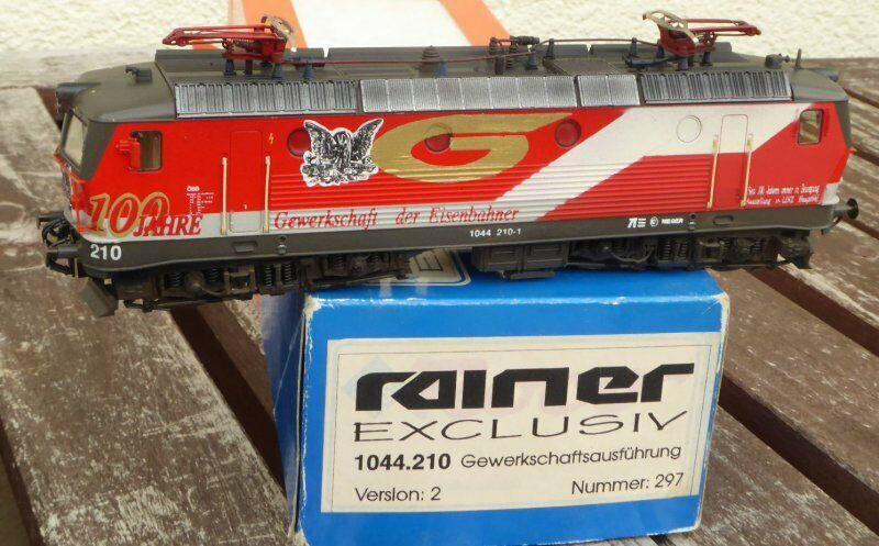 Roco rainer h0 electric locomotive rh 1044 210-1 öbb gewerkschaftslok 100 years