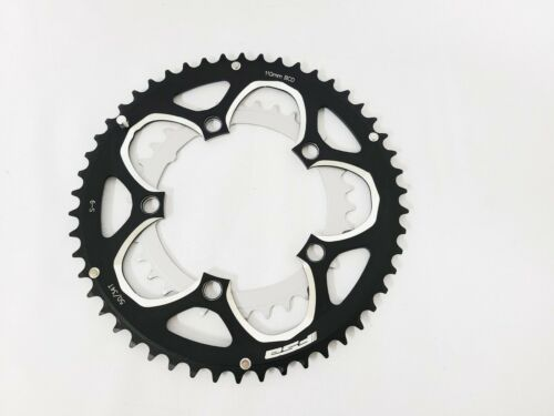 FSA Chainrings Road Bike 50T 34T 110BCD Alloy Black CNC 9 Speed Shimano Fit