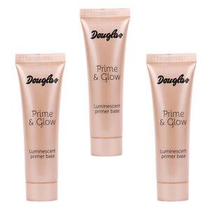 SET 3x Douglas Make-up Teint Luminocent Primer Base MU0235 Prime Glow 30 ml