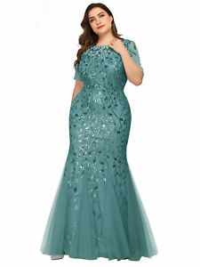 Ever-pretty US Mermaid Evening Party Dresses Formal Cocktail Celebrity Prom Gown