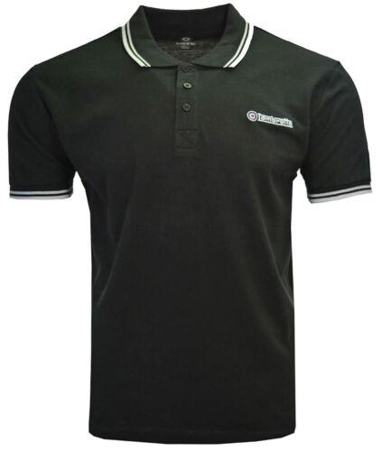 Lambretta Polo Shirt Twin Tipped Collar Mens T-Shirt Cotton Soft SS1608 UK S-4XL