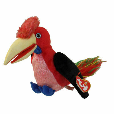 Ty Beanie Baby Frills Bird Hornbill 2001 MWMT
