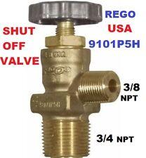 9101p5h Impco 582080 Shut Off Valve 34 Forklift Lpg Gas Propane Tank Brass