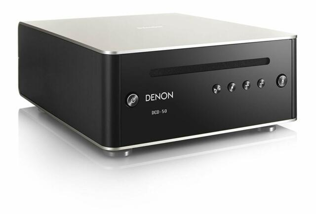 DENON DCD-50SP CD player D/A Converter Premium Silver Fast From Japan F/S NEW
