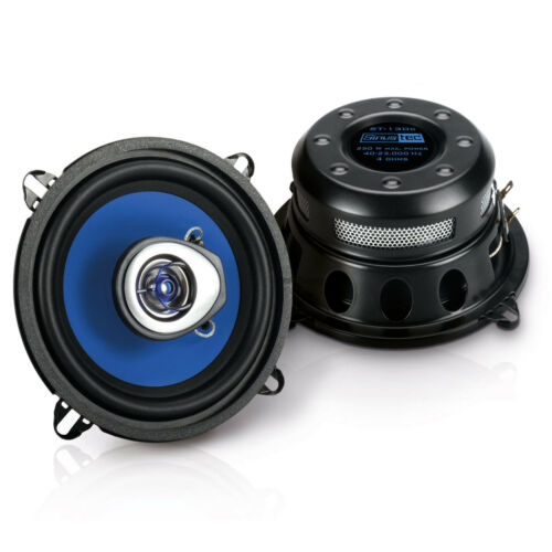 Sinustec altavoces 130mm coaxial boxeo para Smart Fortwo 98-02 Front