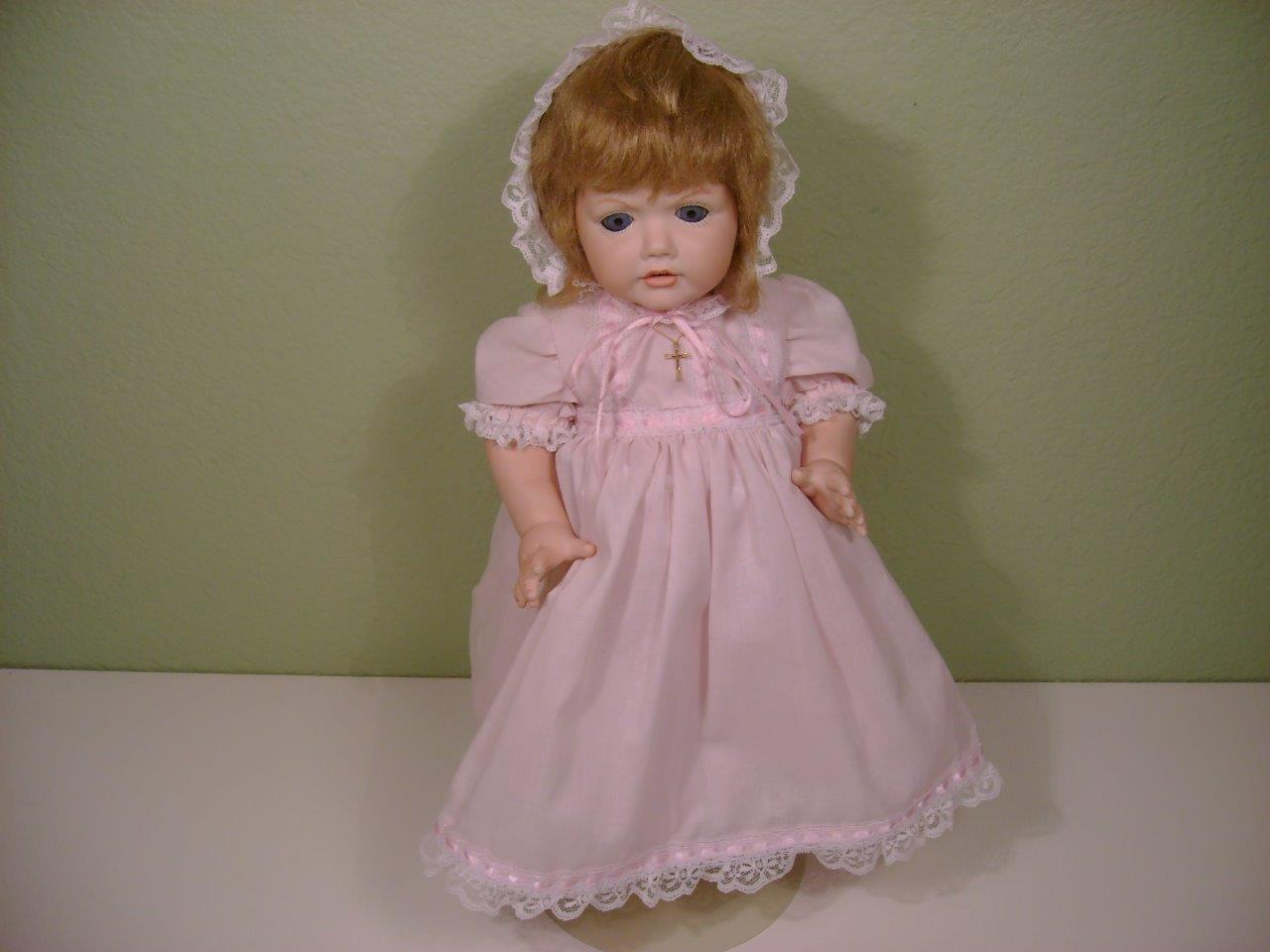 VTG 1995 Hilda 19  Doll Germany JDK Jr Gos.gesch N 1070 1914 Teeth Bisque Repro