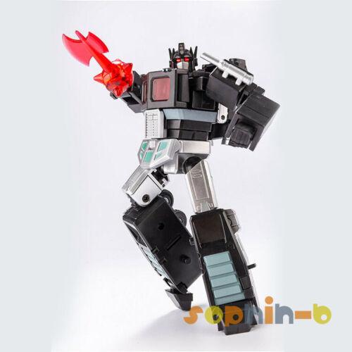 Transformed Optimus Prime Black Convoy with Trailer MPP10 MP10 DX9 DF04 Figure