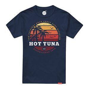 Hot-Tuna-Men-039-s-T-Shirt-Navy-Sunset