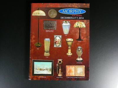Morphy Auction Catalog 12-6/&7-14 Photos Phones Art pottery /& Glass   s10