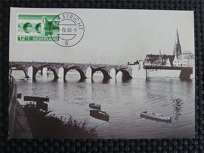Niederlande Mk 1968 Maastricht Bridge Maximumkarte Maximum Card Mc Cm 9720 Eine GroßE Auswahl An Modellen Motive