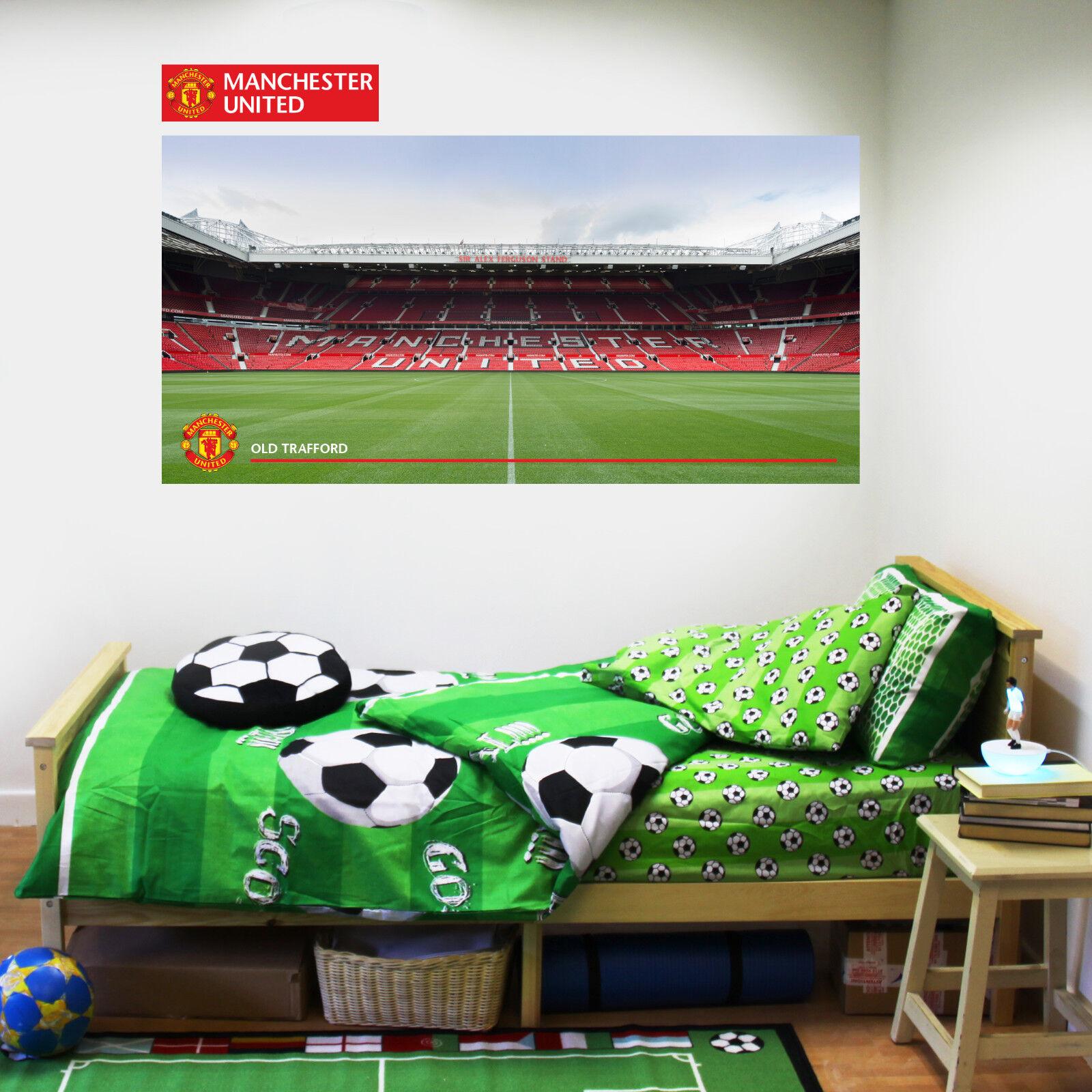 Femmechester United FC Old Trafford Stadium Autocollant Murale  Femme Art Utd Art Femme Decal Set 14d75c