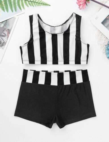 Kids Girl Gymnastic Ballet Dance Dress Leotard Unitard Toddler Dancewear Clothes