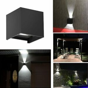 Details About Led Wall Light Waterproof Outdoor Up Down Lamp Exterior Lights