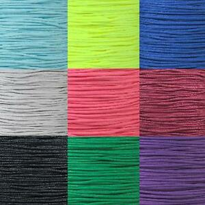 95 lb type 1 paracord single strand 2 ply cord various colors 10 25