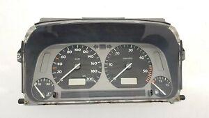 VW Golf III MK3 LHD Compteur de Vitesse Tableau Bord Compte-Tours 1H0919860H Kmh