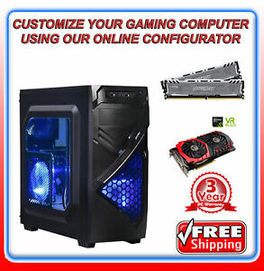 i5-7500-3-4-GHZ-Quad-Core-8GB-DDR4-275GB-M-2-SSD-Win-10-Home-Gaming-R989
