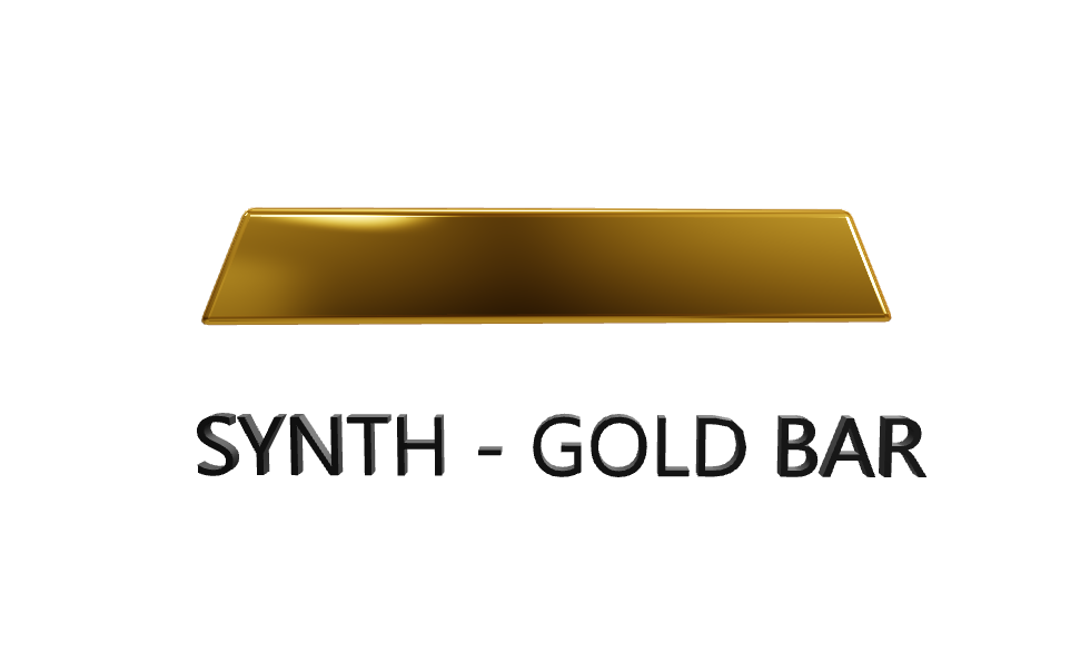 Image 1 - Exclusive SYNTH FACTORY NFT - GOLD BAR, NIFTY, RVN, BLOCKCHAIN