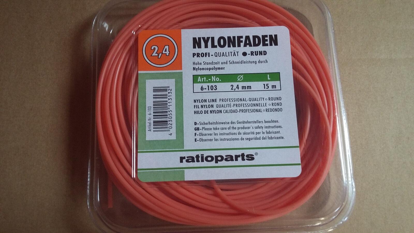 RATIOPARTS Nylonfaden TP Pro.rund 3,0//56m