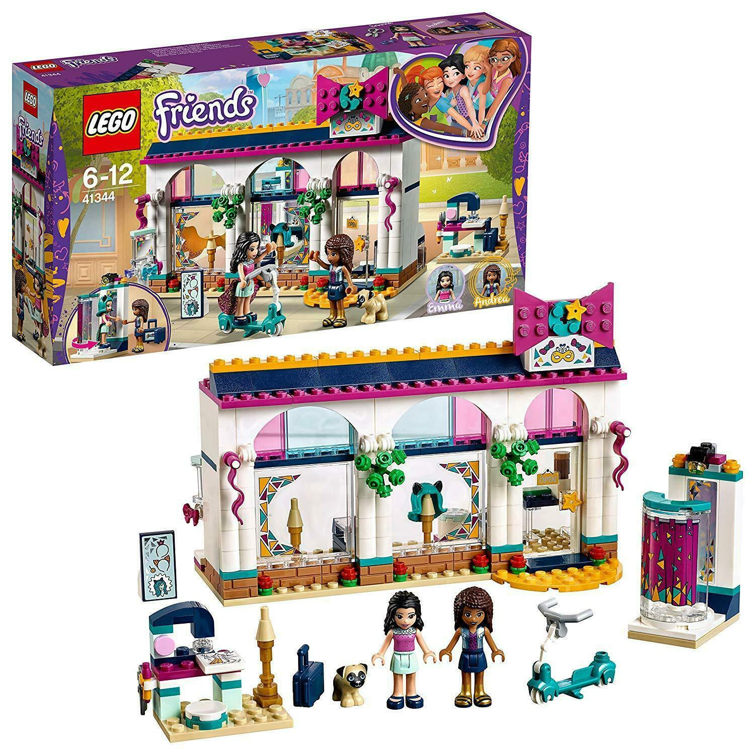 LEGO Friends Andrea' Accessories Store Building Toy Trendy Items Kids Playset