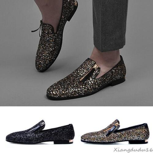 mode hommes La des Dress Sequins On formelles Shock Chaussures Loafers Slip Casual d1BEnBwf