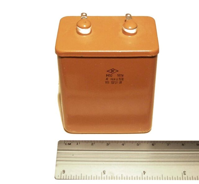 RARE!!!  4x  4uF 160V 5%  MPO Polystyrene capacitor  Hi-End