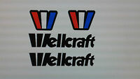 Wellcraft Boat Decals 21 Inch Long Marine Vinyl Set
