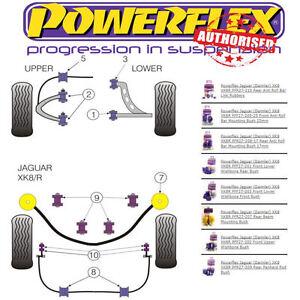 Details about Powerflex Suspension Bush Kit For Jaguar Xk8 Xk8r - X100