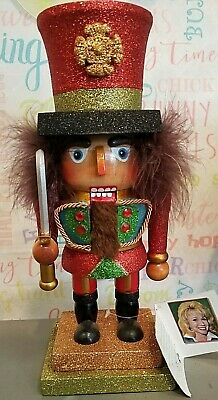 "Kurt Adler Hollywood Penny Candy Machine Red Hat Nutcracker 8.5/"""