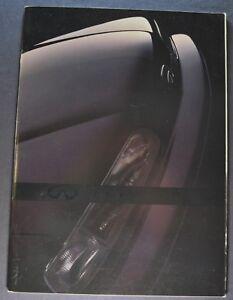 1989 Infiniti M30 Catalog Brochure Sedan Coupe Convertible Excellent Original 89