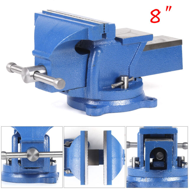 Alloy Heavy Duty Work Bench Vice Engineer Jaw Swivel Base Workshop Vise Clamp