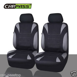 HOLDEN-VE-COMMODORE-SS-06-12-WATERPROOF-NEOPRENE-GREY-2-FRONT-CAR-SEAT-COVERS