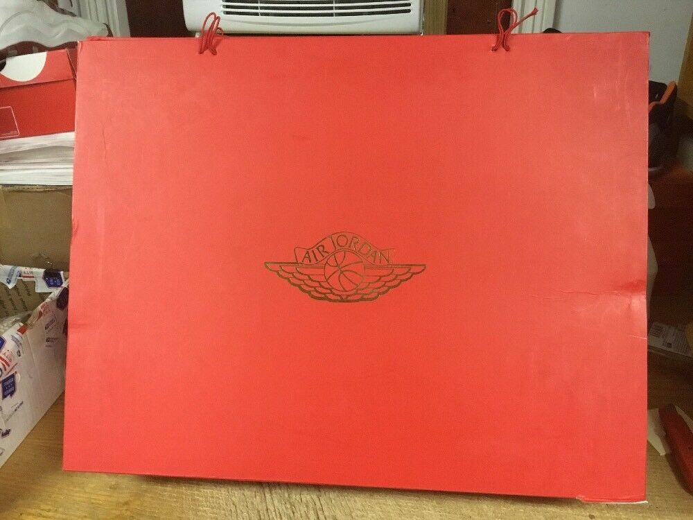 Nike Air Jordan RETRO 2 II Just Don C Beach RED BOX ONLY - JUST THE BOX 10.5