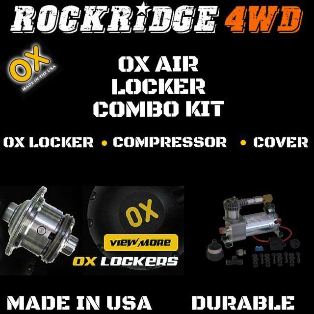 Ox Air Locker Légkompresszor készlet DANA 35 3.55 & amp;UP arány 27 SPLINE Jeep